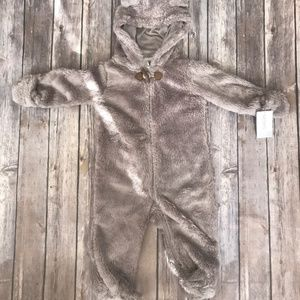 Carters Furry Bear Bunting Boys 9 Months - NWT